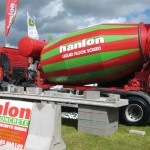 Huge interest in Hanlon Liquid Floor Screed at Tullamore Show 2011